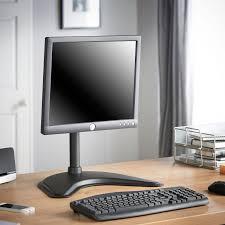 vonhaus single monitor desk mount stand 2