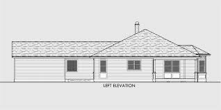 house side elevation view for 10153 victorian house plans one story house plans house