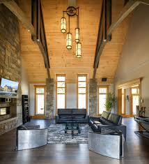 Rustic Contemporary Mountain Style Home With Innovative Design - Mountain home interiors