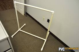 Pvc Pipe Coat Rack Best DIY PVC Clothes Rack Easy DIY With PVC Pipe And Fittings