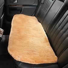 sheepskin bench seat pads