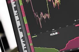 Bitcoin Btc Stock Exchange Live Price Chart Stock Images