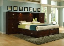 Perimeter Place Perimeter Bookcase King Bed Pier Group by BK Home ...