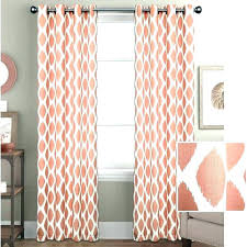 salmon colored shower curtain wonderful c and white curtains living bronze salmon colored shower curtains