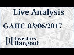 Gahc Stock Live Analysis 03 06 2017