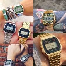 <b>TTLIFE</b> Gold Digital <b>Men's</b> Watch with LED Display | Watches | <b>Retro</b> ...