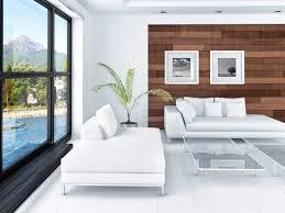 modern asian inspired living room