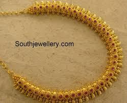 Mango Design Gold Chain Traditional Gold Mango Necklace Indian Jewellery Designs