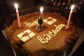 happy birthday chocolate cake with candles. Chocolate Birthday Cake Candles HD Wallpaper In Happy With