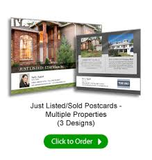 Just Listed Postcards