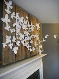 3d Butterfly Wall Decor 3d Butterfly Wall Art Design Fabulous
