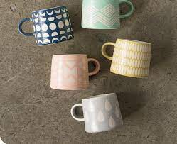 Our custom mugs are printed with high quality ink, so they'll last wash after wash. Imprint Ceramic Mug In Ink By Danica Studio Gretel Home