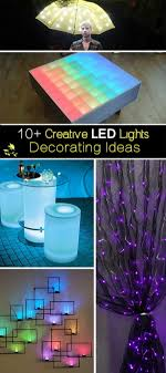creative led lighting. Creative LED Lights Decorating Ideas! Led Lighting Hative