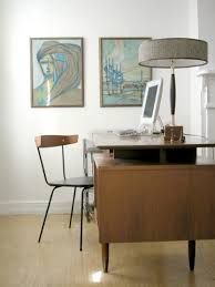 mid century modern office not mine by elegantxtrash century office