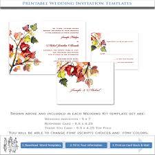 fall wedding invitation template printable autumn wedding Printable Autumn Wedding Invitations fall wedding invitation template printable autumn wedding invitations