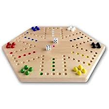 Beautiful Wooden Marble Aggravation Game Board Amazon Oak HandPainted 100 Wooden Aggravation Game Board 36