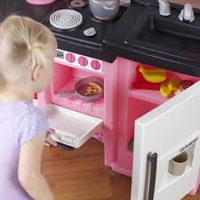 Pink Step 2 Kitchen Step2 Coffee Time Kitchen Includes 21 Piece Cook Set Pink And