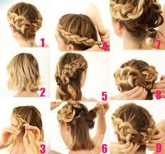 10 Sencillos Tutoriales De Peinados Para Cabello Corto Que Puede