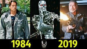 Терминатор - Эволюция (1984 - 2019) ! Все Появления Арнольда ...