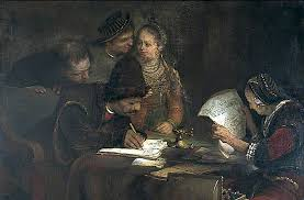 The Marriage Contract Painting Aert De Gelder Oil Paintings