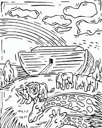 Small Picture Excellent Noahs Ark Coloring Page 40 7412