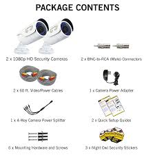 cam 2pk ahd10 2 pack hd cameras wired hd cameras cameras night owl hd application video manual cam 2pk ahd10 specs cam 2pk ahd10 contents