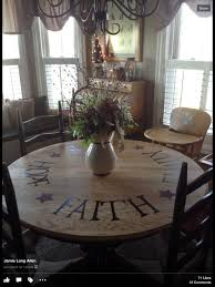 pictures of primitive stenciled tables stenciled dining table cute