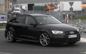 black audi. audi a3 black sedan 2016