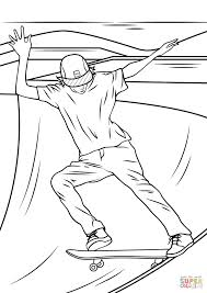 skateboarding coloring pages 2689414