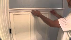 Tall Wainscoting build simple bathroom wainscot pt 2 youtube 5109 by xevi.us