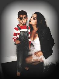 chucky and bride of chucky mother and son costume bride of chucky costume chucky