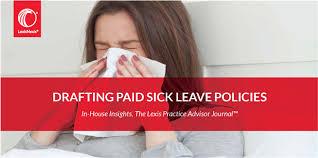 Drafting Paid Sick Leave Policies