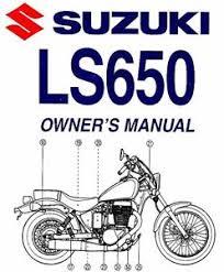2006 suzuki ls650 boulevard s40 motorcycle owners manual ls 650 image is loading 2006 suzuki ls650 boulevard s40 motorcycle owners manual
