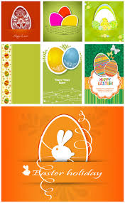 easter egg hunt flyer template typography hunt s and eggs set of 7 beautiful vector decorative easter card design templates in modern style or nts and painted easter eggs for greeting cards posters
