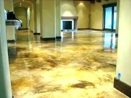 stained concrete floor cost how much does it to stain floors yourself cement staining mu
