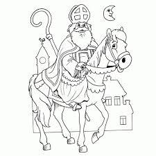 20 Beste Nummer Kleurplaat Sinterklaas Win Charles