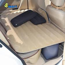 Back Seat Bed Car Back Seat Cover Car Air Mattress Outdoor Travel Bed Inflatable