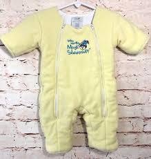 Merlin S Magic Sleepsuit Sizing Chart Baby Merlins Magic Sleepsuit Size Small 3 6 Months Yellow