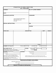 bill of lading printable form bill of lading sample form with blank bill lading template mughals