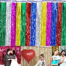 Curtains Wedding Decoration Online Buy Wholesale Tinsel Curtains From China Tinsel Curtains