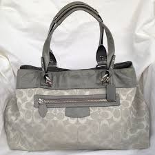 ... Coach Penelope Signature Large Shopper Tote ...