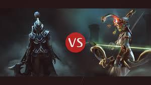 dota2 phantom assassin vs medusa youtube