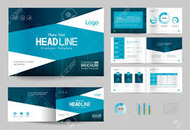 Free Company Report Business Brochure Design Template And Page Layout For Company