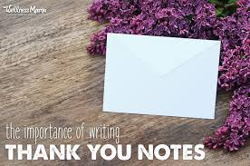 Why Thank You Notes Are Still Important | Wellness Mama