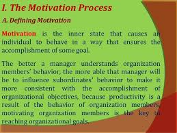 motivation principles of management  5 i the motivation