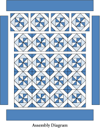 Blue Breeze: FREE Classic Blue and White Quilt Lap Quilt Pattern ... & Blue Breeze: FREE Classic Blue and White Quilt Lap Quilt Pattern from  McCalls Quilting ~ Adamdwight.com