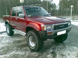 1990 Toyota Hilux PICK UP Pictures, 2500cc., Diesel, Manual For Sale