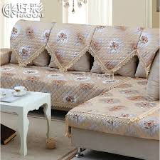 sectional sofa covers. European Style Embroidered And Jacquard Pattern Discount Sofa Covers Soft Sectional Couch Armrest Sofas Fundas T