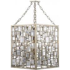 foy0435 foyer 4 light pendant antique silver gold