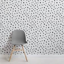 wallpaper for office wall. Black And White Spotty Speckle Wall Mural Wallpaper For Office Wall O